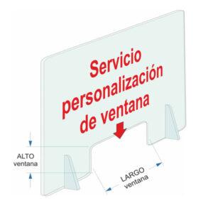 servicio personalización de mampara